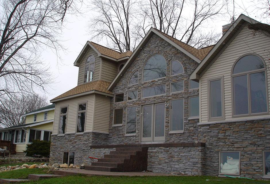 Webster Lake Custom Home Designs