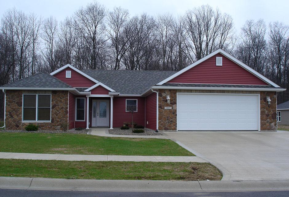 New construction 14 custom home designs for Home designs llc